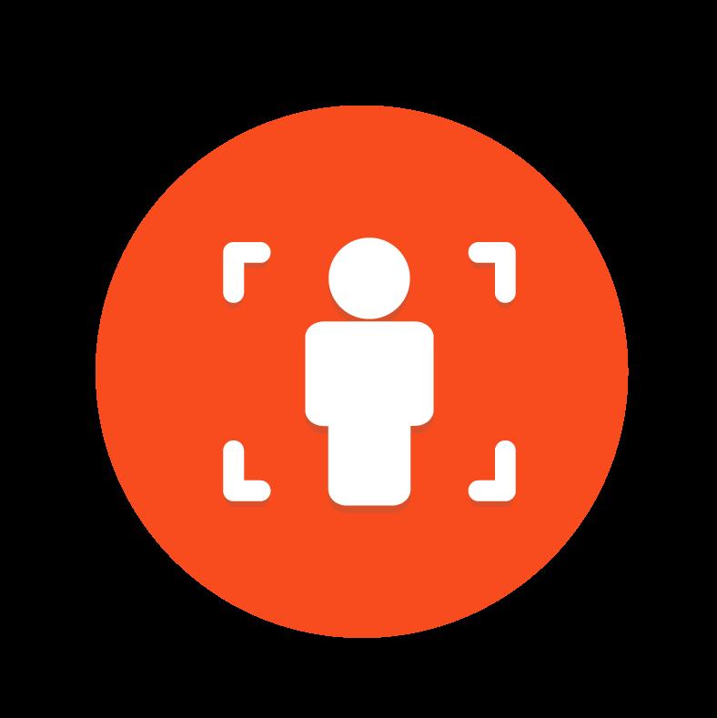 動態人臉辨識icon